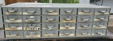 Lyon 24 Drawer Parts Hardware Industrial Storage Cabinet 10.5