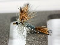 GREY WULFF Dry Trout Fishing Flies various options  by Dragonflies