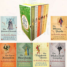 Edward Marston Nicholas Bracewell Collection 6 Books Set Gift Wrapped Slipcase
