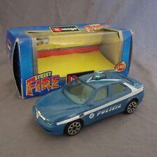 78F Burago Street Fire 4198 Alfa Romeo 156 Polizia 1:43
