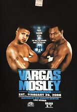 X-Large Shane Mosley vs. Fernando Vargas Vintage Boxing Fight T-Shirt Brand New