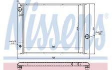 NISSENS Radiador, refrigeración del motor BMW Serie 5 7 6 60763