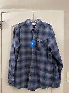 Men's Large Columbia Juniper Dunes Flannel Long Sleeve Shirt