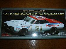 #21 David Pearson 1971 Mercury Cyclone PUROLATOR 1/24 NASCAR Legends New Sealed