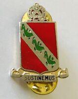 Sustinemus 43 Air Defence Artillery Military Pin Badge Rare Vintage (F8)