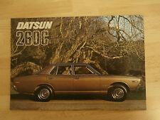 Datsun 260C.Brochure.20M.IV.75.Collectors condition.1975. Mint