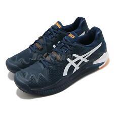 Asics Gel-Resolution 8 Clay австралийский открытый синий, темно-синий мужской теннис 1041A076-403