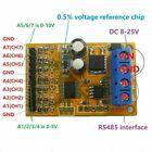 0-5V 0-10V 7ch ADC Analog Voltage Acquisition Sampler RS485 ModBus RTU Module