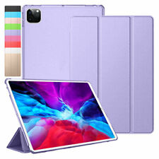 For iPad Pro 2020 10.5 12.9 11 2018 Hard Shell Smart Stand Protective Case Cover