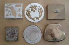 Lot 6 Vintage Compacts  Elgin American Zell Fifth Ave.