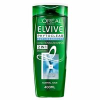Loreal Paris Elvive Phytoclear Anti Dandruff Refreshing  Shampoo 400ml L'Oreal