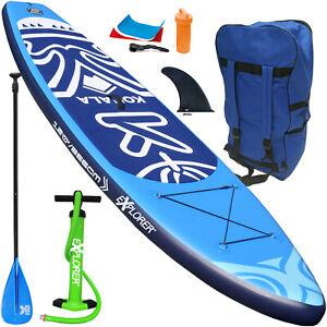 EXPLORER KOHALA 366 SUP Board Stand Up Paddle Surf aufblasbar Paddel ISUP Aqua