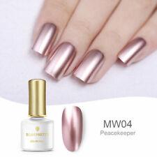 Rose Gold Metallic Mirror Soak Off UV Gel Nail Art Polish Nails BORN PRETTY 6ml
