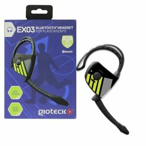 Gioteck EX-03 Sports Edition Bluetooth Chat Headset for Playstation 3