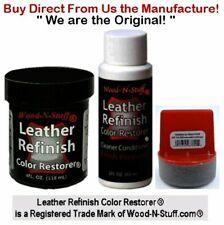 Leather Refinish Color Restorer® ~ White 3pc Kit ~ We are the Original!