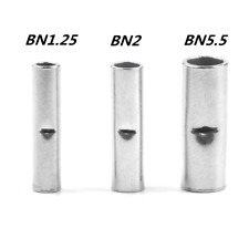 Non Insulated Butt Connectors Electrical Wire Ferrule Cable Crimp Terminals