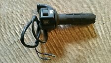Yamaha xt 250 t throttle assembly and kill switch