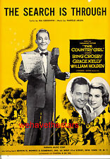 "Country Girl ""The Search Is Through"" Bing Crosby Grace Kelly"