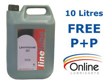 LineLube Lawnmower Oil SAE 30 4 Stroke Engine Lubricant API CC/SE 2 x 5 L Litre