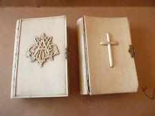 LOT DE 2 MISSEL ANCIEN   LIVRE RELIGIEUX  RELIGIOUS