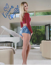 KENNA JAMES Penthouse Adult Video Star SIGNED 8X10 Photo f
