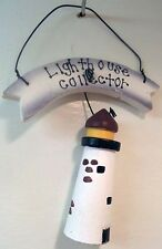 lighthouse collector  country wood decor sign