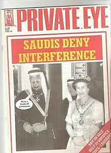 Private Eye Mag # 889 12 January 1996 Saudi Arabia King Fahd  Queen Elizabeth II