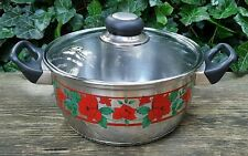 Pot Saucepan Soup Pot Potato Stew With Lid Stainless Steel BEEM Baccara Roses