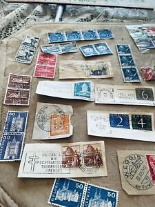 Swiss stamps never been hinged