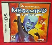 Megamind Blue Defender  - Nintendo DS Lite 3DS 2DS Game Complete Works Tested