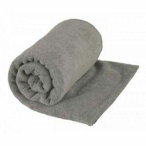 Sea to Summit Tek Towel Ultra Fine Microfibre - Grey - XSmall   ***FREE POST***
