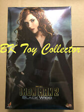 Hot Toys Iron Man 2 Black Widow 1/6 Figure USED MMS124 Avengers