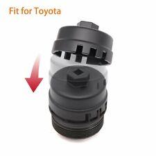 Oil Filter Wrench for Toyota Prius Matrix Rav4 Corolla Highlander Tundra (Black)