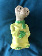 E.T. The Extra Terrestrial Ceramic Vintage Money Box Rare