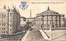 BR65287 m ewan hall and students union   edinburgh scotland
