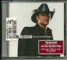 """Live Like You Were Dying by Tim McGraw (CD, Aug-2004, Curb) """"Sealed"""""""