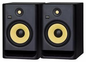 KRK RP 8 G4 S2 COPPIA DIFFUSORI AMPLIFICATO DA STUDIO  DJ GARANZIA UFFICIALE