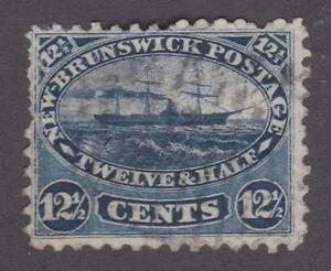 Canada New Brunswick 1860 #10 Steamship - F/VF Used
