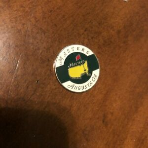 Masters Tournament  Golf Ball Marker -- AUGUSTA GEORGIA Authentic Souvenir