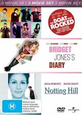 The Boat That Rocked / Bridget Jones's Diary / Notting Hill (DVD, 2010, 3-Discs