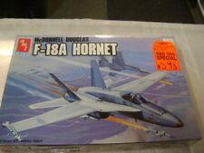 AMT McDonnell Douglas F-18A HORNET 1/72 Scale Plastic Model Kit 1988 pn#8802 NIB