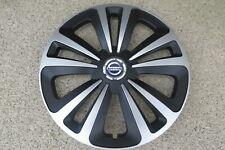 4 Alu-Design Radkappen TERRA RING schwarz/silber 16 Zoll Nissan