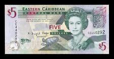 B-D-M Estados Caribe East Caribbean 5 Dollars 2008 Pick 47 SC UNC