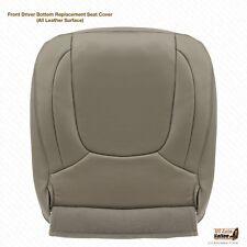 2004 Dodge Ram 1500 2500 3500 Laramie Driver Bottom Leather Seat Cover Color Tan