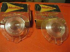 NOS Mopar 1960-61 Plymouth Valiant Backup Lens set...read...
