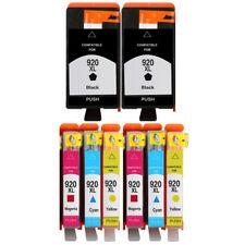 8 Ink Cartridge Unbrand Fits hp 920XL Officejet 7000A 7500A E609a E609n 6500A