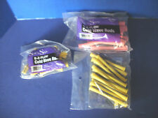 Soft 'n Style~E-Z FLOW COLD WAVE RODS~Lot of 4~12 PINK~24 YELLOW~12 PURPLE~NEW