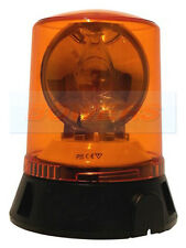 230V / 240V MAINS POWERED ROTATING AMBER FLASHING BEACON LIGHT TAXI CAB OFFICE