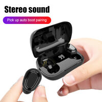 TWS Bluetooth 5.0 Wireless Earphones Noise Reduction Stereo Headphones Headset O
