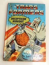 Vintage Ladybird Books ~ DECEPTICON HIDEOUT ~ Transformers ~ 1st Edition (HE49)